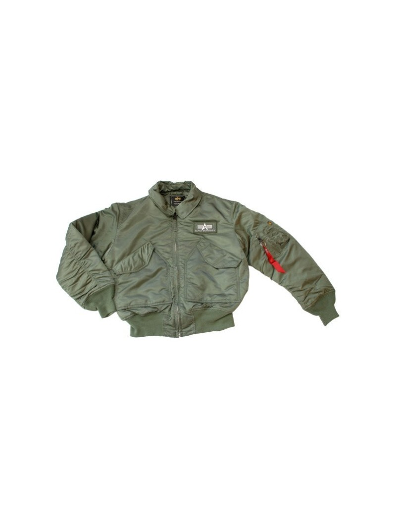 Bunda ALPHA CWU 45/P, sage green