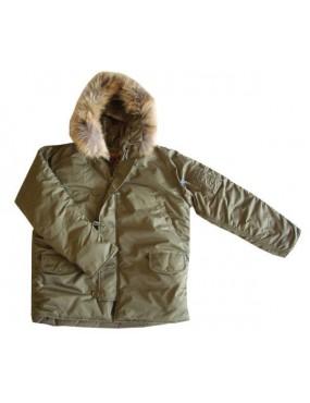 Kabát N3B RTX ALASKA, oliv