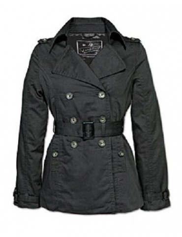 Kabát SURPLUS Luxury dámsky, čierny