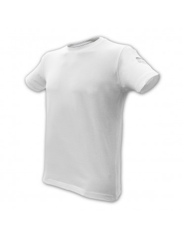 Tričko ALPHA INDUSTRIES elastické, biele