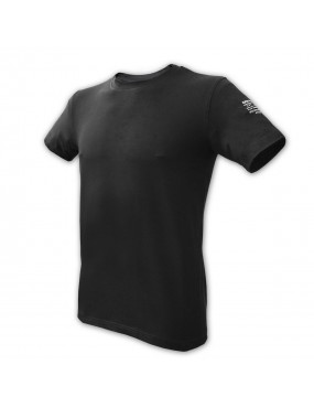 Tričko ALPHA INDUSTRIES elastické, čierne