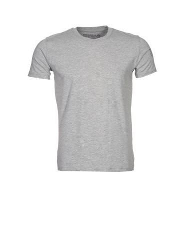 Tričko ALPHA INDUSTRIES elastické, sivé