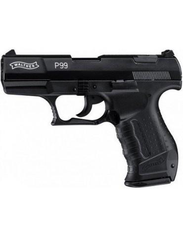 Pištoľ plynová WALTHER P 99, black 9mm