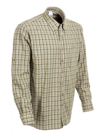 Košeľa RTX poľovnícka - bledá károvaná