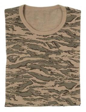 Tričko kr.rukáv elastické, tiger