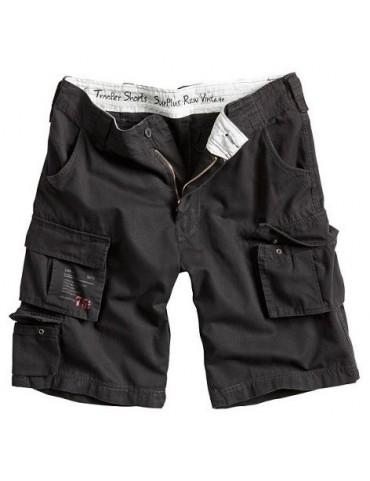 Nohavice krátke Trooper, čierne