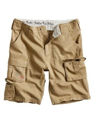 Nohavice krátke Trooper, coyot