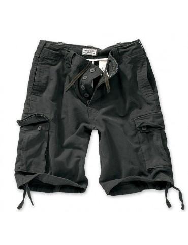 Nohavice krátke VINTAGE, čierne