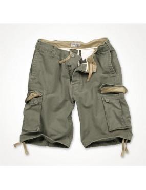 Nohavice krátke VINTAGE, oliv