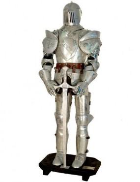 Zbrojnoš s mečom 01 silver