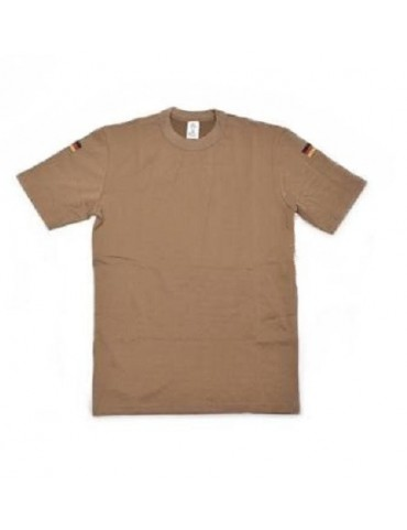 Tričko BW tropical kr. rukáv, coyot