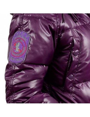 Kabát ALPHA N3B dámska, lilac