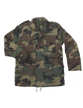 Kabát detský M-65, woodland
