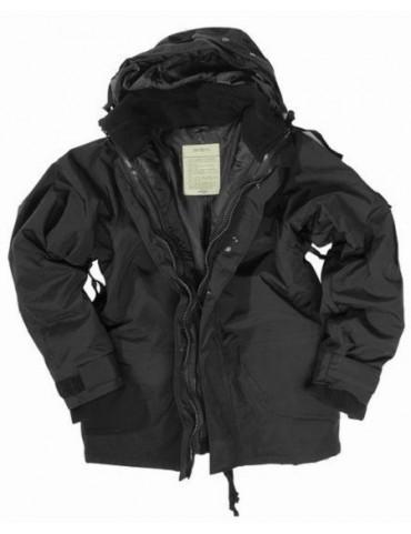 Kabát nepremokavý STURM, čierny