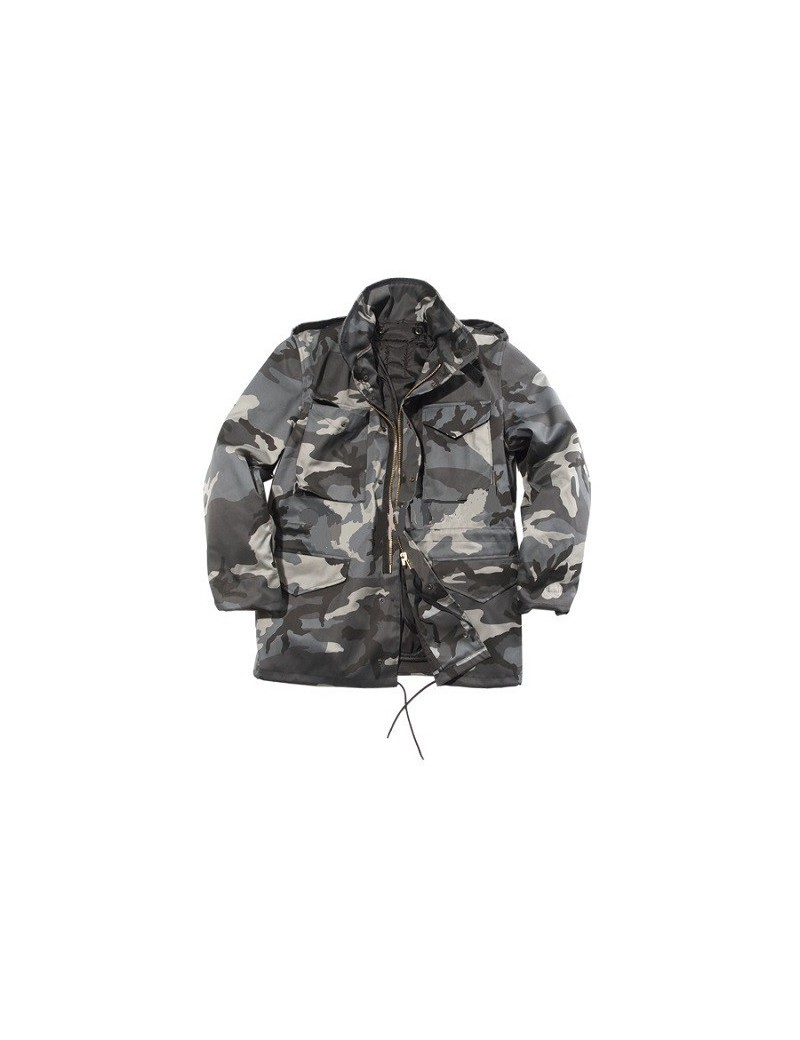 Kabát M-65, dark camo