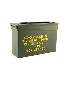 Box US kovový na muníciu CAL.30, oliv