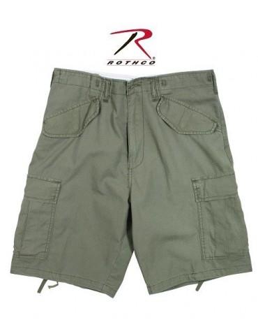 Nohavice krátke M-65, oliv