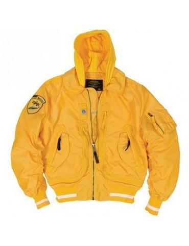 Bunda ALPHA Liquid Racer, yellow
