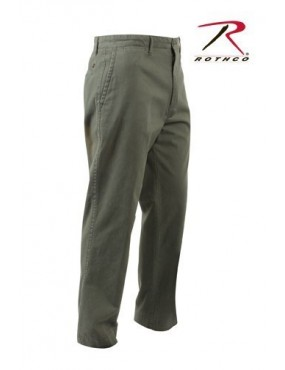 Nohavice CHINOS deluxe, oliv