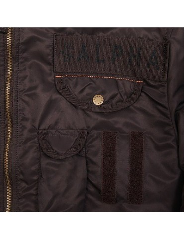 Bunda ALPHA Deflector X, deep brown