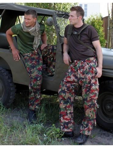 Nohavice Swiss army, letné