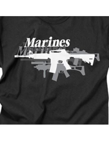 Tričko kr. rukáv MARINES GUN