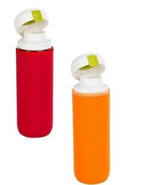 Fľaša plastová s neoprénovým obalom