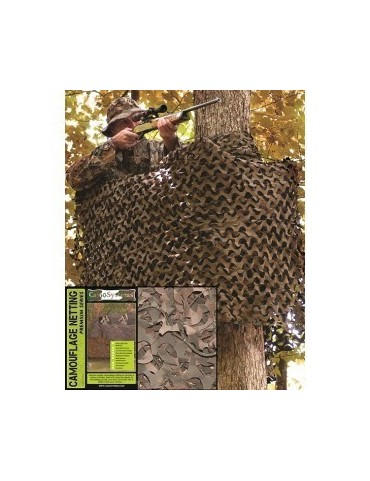 Sieť maskovacia military 3x3m, woodland