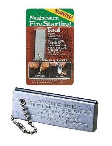 Magnesium Fire Starting Tool, USA