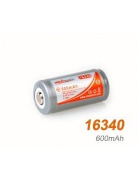 Akumulátor 16340 /600mAh/