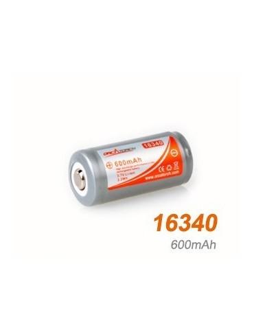 Batéria 16340 /600mAh/