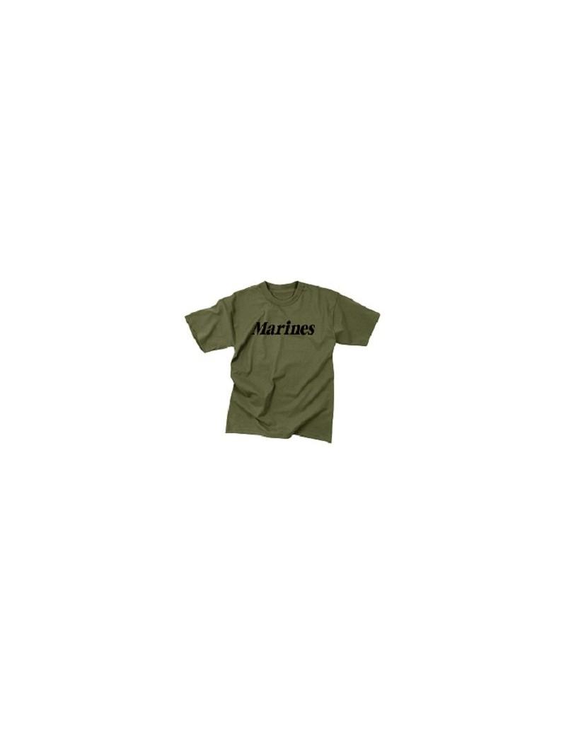 240b0b856bdd Tričko s potlačou Marines