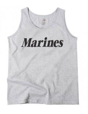 Tielko s potlačou Marines, sivé