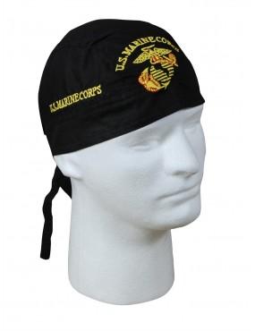 Čiapka pirát U.S. Marine Corps, čierna