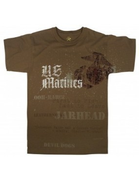 Tričko kr. rukáv Marines DEVIL DOGS