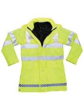 Bunda vodeodolná policajná, použitá