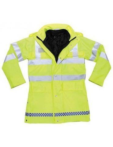 Bunda britská policajná, použitá