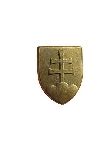 Odznak kovový, slovenský znak