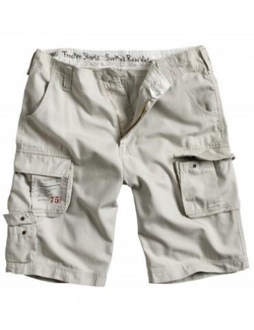 Nohavice krátke Trooper, white
