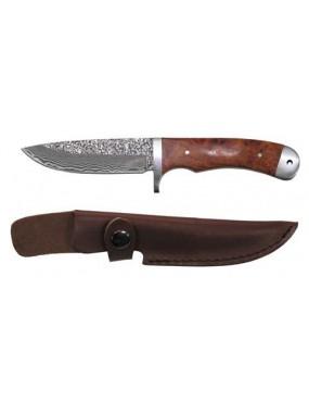 Nôž poľovnícky, damaškový