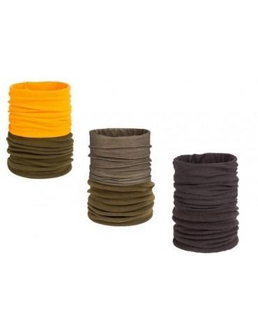 Šál - kukla kombinovaná, fleece