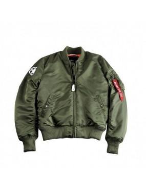 Bunda ALPHA MA-1 VF Army, sage green