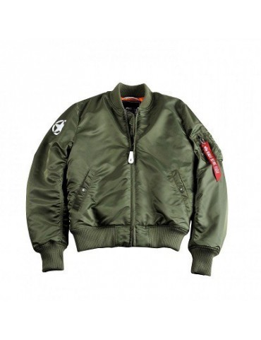 Bunda ALPHA MA-1 VF Army, sage green