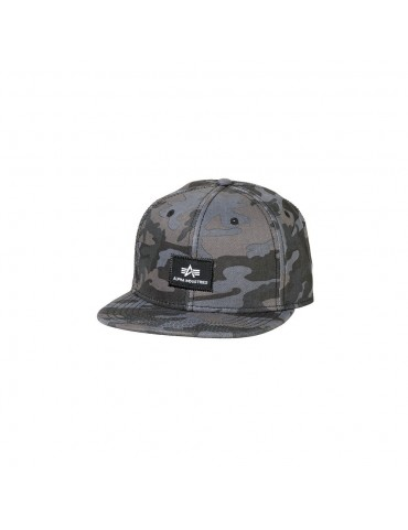 Čiapka ALPHA X-FIT baseball, black camo