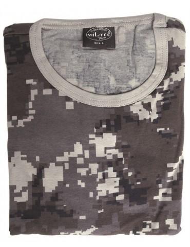 Tričko kr. rukáv elastické, urban digital