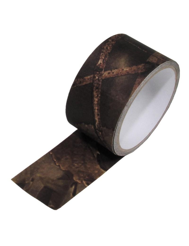 Páska lepiaca textilná, hunter-braun