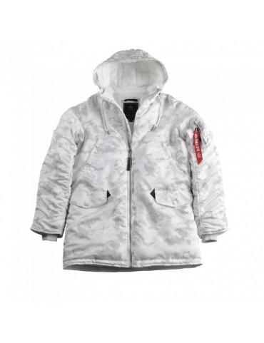 Kabát ALPHA N3-B PM, white camo