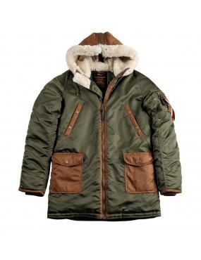Kabát ALPHA N3-B3, dark green