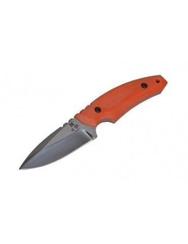 Nôž Tramp pevná čepeľ, orange