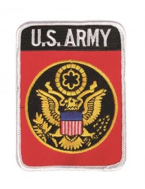 Nášivka U.S. ARMY, červená